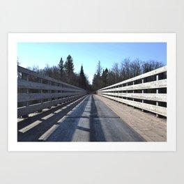 Firesteel Bridge Art Print