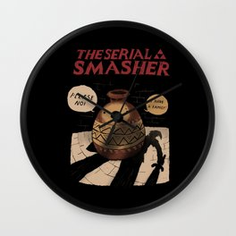 the serial smasher Wall Clock