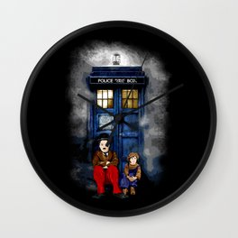 Charlie Chaplin Waiting the Doctor apple iPhone 4 4s 5 5s 5c, ipod, ipad, pillow case and tshirt Wall Clock