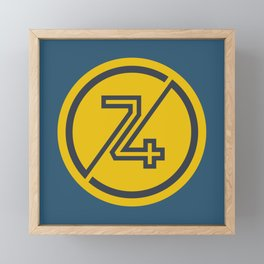 74 Framed Mini Art Print