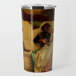 "Alexandre Cabanel ""Florentine Poet"" Travel Mug"