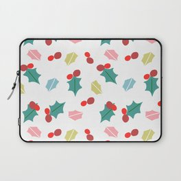 cute mistletoe white Laptop Sleeve