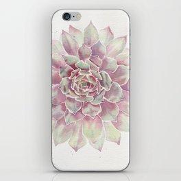 Big Succulent Watercolor iPhone Skin