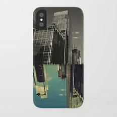 Canary Wharf - Poster, Art Print, Framed Art Print and Canvas  iPhone X Slim Case