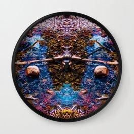 Reflecting Pool 4 Wall Clock