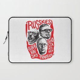 Russkies-Russian composers Laptop Sleeve