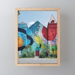 Blind Whino Framed Mini Art Print