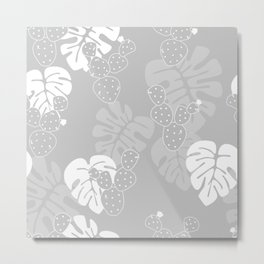 Tropical pattern 060 Metal Print
