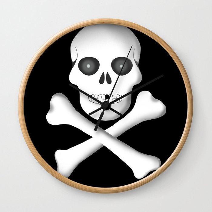 Skull, skeleton design Wall Clock