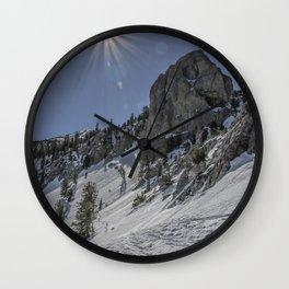 Mammoth Rock Wall Clock