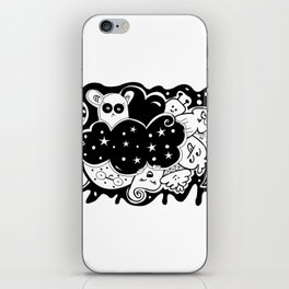 What? - It's Doodle baby! iPhone Skin