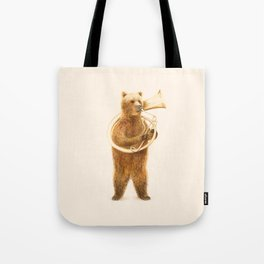 The Bear and his Helicon Tote Bag