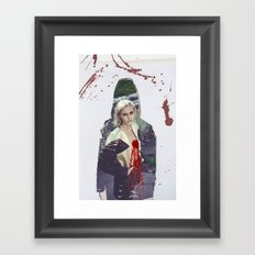 Bundenko street art Framed Art Print