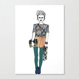 Party Doo Canvas Print