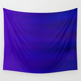 Ultra Violet to Indigo Blue Ombre Wall Tapestry