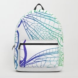 Iridescent Dragonfly Backpack