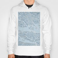 stockholm Hoodies featuring Stockholm  by Anna Eggertz