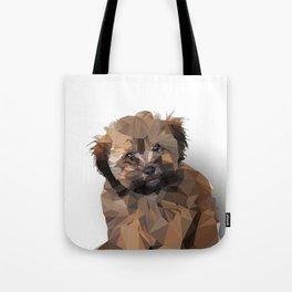 Cocoa, the puppy Tote Bag