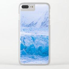Spencer Glacier, Alaska Clear iPhone Case
