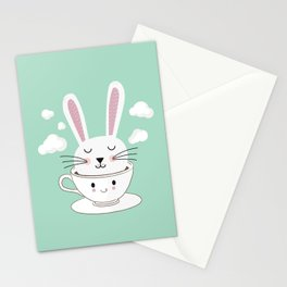 Take a Cup of Bunny Stationery Cards