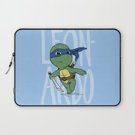 TMNT: Leonardo (Cute & Dangerous) Laptop Sleeve