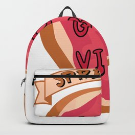 Spreading Good Positivity Backpack