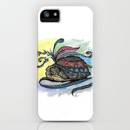 Shelter Henna  iPhone Case