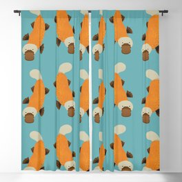 Whimsy Platypus Blackout Curtain
