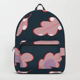Dotted leaves Backpack