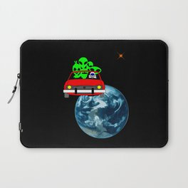 Ride to Mars selfie Laptop Sleeve