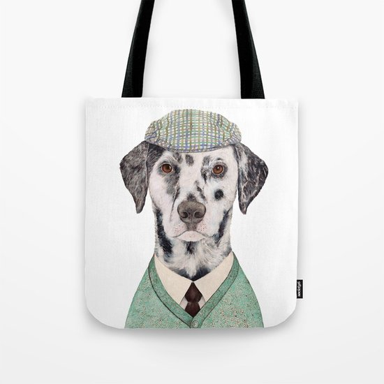 Dalmatian Mint Tote Bag