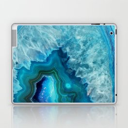 Blue Agate Laptop & iPad Skin