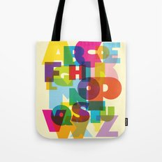 ABC in colour Tote Bag