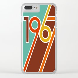 VINTAGE 1967 Pop Art by BruceALMIGHTY Clear iPhone Case
