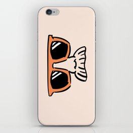 Too Cool (red orange) iPhone Skin