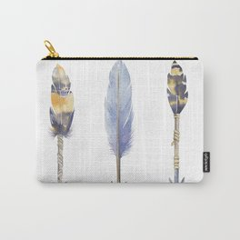 Watercolor bohemian arrows Carry-All Pouch