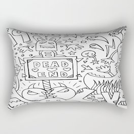 Dead End Don't Necessary Mean The End Rectangular Pillow