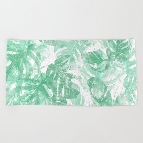 Lets Get Tropical Beach Towel