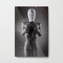 Bandaged Nude Metal Print