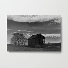 Country Shed Metal Print