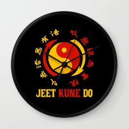 Jeet Kune Do Martial Arts Kungfu Master Wall Clock