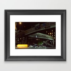 Up is Down Framed Art Print
