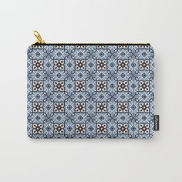 Blue Tiles Carry-All Pouch