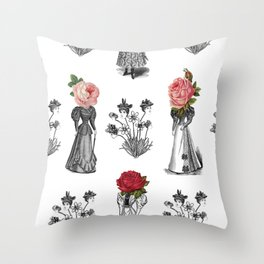 The Dreams of Flowers   The Tables Have Turned Throw Pillow