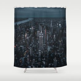 empire state building nyc Shower Curtain