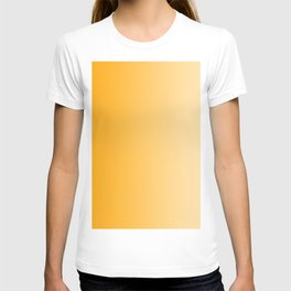 Orange to Pastel Orange Vertical Linear Gradient T-shirt