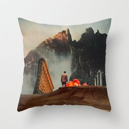 My Worlds Fall Apart Throw Pillow