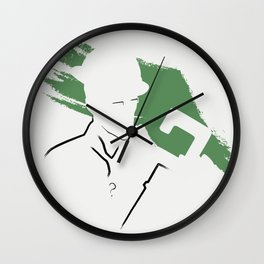 Riddle Ink Wall Clock