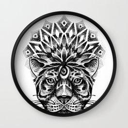 Trance tiger Wall Clock