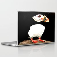 puffin Laptop & iPad Skins featuring Puffin by  Alexia Miles photography